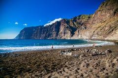 Playa de los Guios in Los Gigantes Royalty Free Stock Image