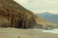 Playa de Los Muertos, Ισπανία στοκ φωτογραφία με δικαίωμα ελεύθερης χρήσης