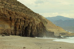 Playa de los Muertos, Spagna Fotografia Stock Libera da Diritti