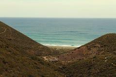 Playa de Los Muertos, Spanien Stockfoto