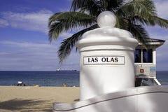Playa de los Olas de Las Imágenes de archivo libres de regalías