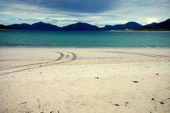 Playa de Luskentyre Foto de archivo