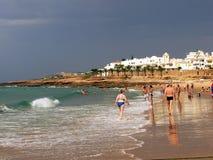 Playa de Luz Foto de archivo libre de regalías