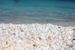 Playa de mármol Imagenes de archivo
