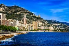 Playa de Mónaco Foto de archivo