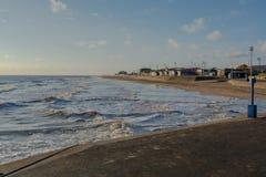 Playa de Mablethorpe Imagen de archivo libre de regalías