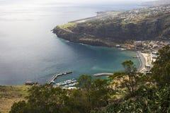 Playa de Machico en Madeira Imágenes de archivo libres de regalías