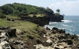 Playa de Madasari Fotos de archivo libres de regalías