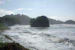 Playa de Madasari Fotografía de archivo libre de regalías