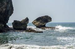 Playa de Madasari Foto de archivo