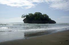 Playa de Madasari Foto de archivo libre de regalías