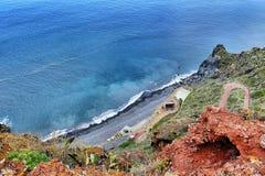 Playa de Madeira fotos de archivo
