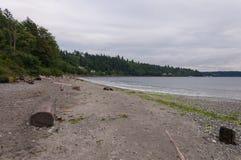 Playa de madera 2 Fotos de archivo libres de regalías