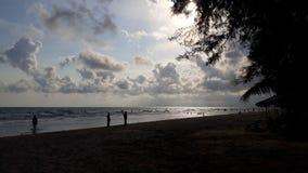 Playa de Mae Rumphueng foto de archivo libre de regalías