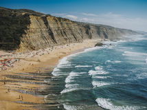 Playa de Magoito, Portugal imagen de archivo libre de regalías