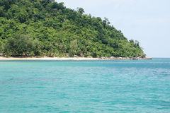 Playa de Malasia en Tioman Imagen de archivo