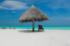 Playa de Maldivas Imágenes de archivo libres de regalías