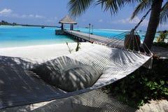 Playa de Maldivas Fotografía de archivo