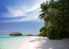 Playa de Maldives Foto de archivo libre de regalías