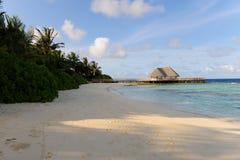 Playa de Maldives Fotos de archivo libres de regalías