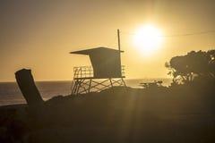 Playa de Malibu imagenes de archivo