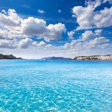 Playa de Mallorca Cala Santa Ponsa Ponca en Majorca Fotos de archivo