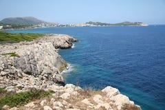 Playa de Malorca Imágenes de archivo libres de regalías