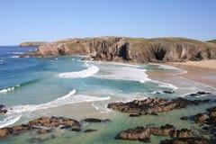 Playa de Mangurstadh Imagenes de archivo