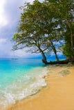 Playa de Manokwari Fotografía de archivo