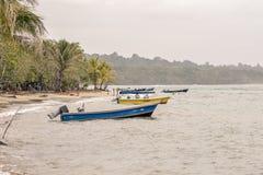 Playa de Manzanillo Fotos de archivo