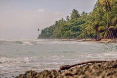 Playa de Manzanillo Imágenes de archivo libres de regalías