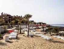 Playa de marcha de la palma foto de archivo libre de regalías