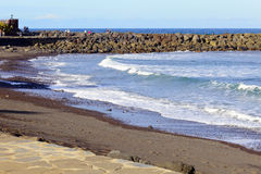 Playa DE Martianez Royalty-vrije Stock Fotografie