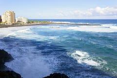 Playa DE Martianez Royalty-vrije Stock Afbeeldingen