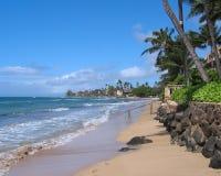 Playa de Maui Fotos de archivo libres de regalías
