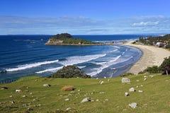 Playa de Maunganui del soporte, Nueva Zelanda Fotografía de archivo