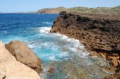 Playa de Menorca Fotografía de archivo