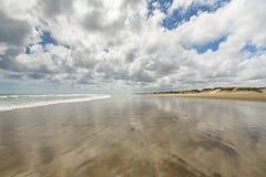 Playa de 90 millas En alguna parte en Nueva Zelandia Fotografía de archivo