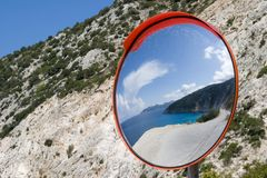 Playa de Mirtos imagenes de archivo