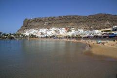Playa de Mogan Fotografía de archivo libre de regalías