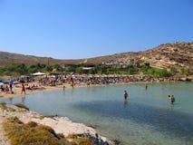 Playa de Monastiri Foto de archivo libre de regalías