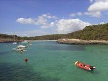 Playa de Mondrago Foto de archivo libre de regalías