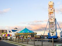 Playa de Monmouth, carnaval de New Jersey Imagen de archivo