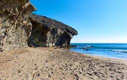 Playa de Monsul. Spain Stock Images