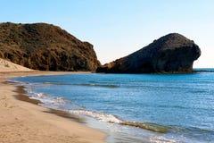 Playa de Monsul. Spain Royalty Free Stock Photography