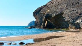 Playa de Monsul. Spain Stock Photos