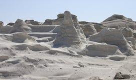 Playa de Moonscape Fotos de archivo