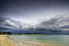 Playa de Morgat foto de archivo libre de regalías