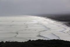 Playa de Muriwai Fotografía de archivo