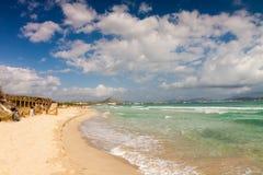 Playa de Muro Beach Stock Photos